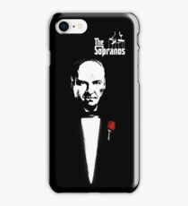 The Sopranos (The Godfather mashup) iPhone Case/Skin