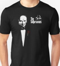 The Sopranos (The Godfather mashup) T-Shirt