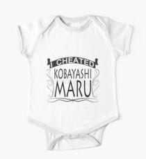 I cheated Kobayashi Maru Kids Clothes