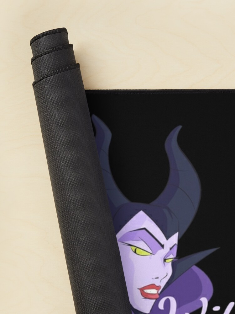 Alternate view of Witch Please! - Halloween Maleficent Mouse Pad