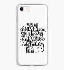 The Breakfast Club Quote iPhone Case/Skin