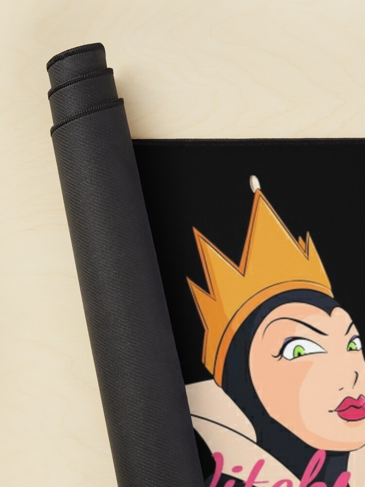 Alternate view of Witch Please! Snow Queen Mouse Pad