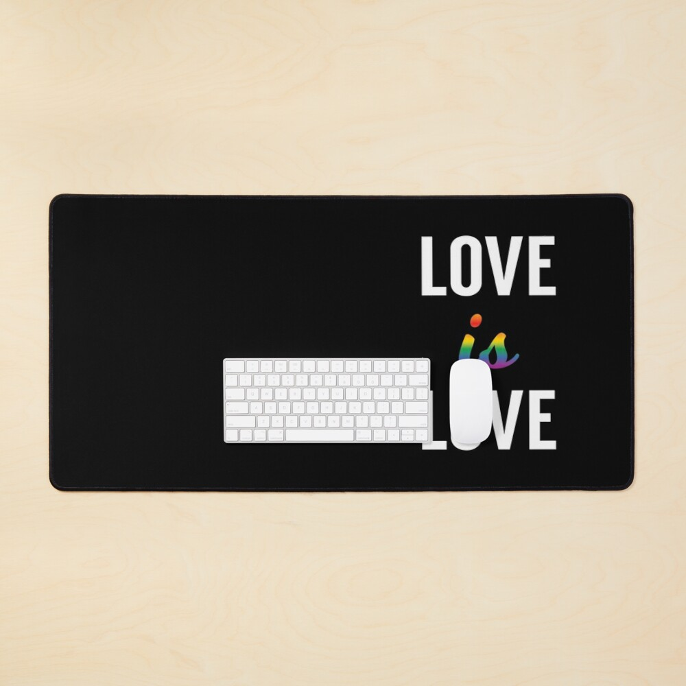 Love is Love - Pride Month Mouse Pad