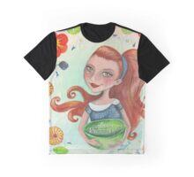 flower, love & rock n roll Graphic T-Shirt