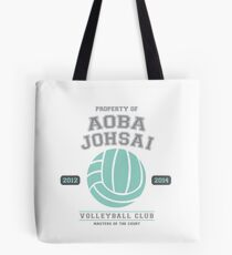 Team Aoba Johsai Tote Bag