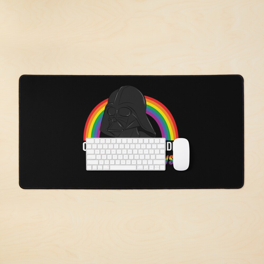 Come to the Gay Side, we Have Rainbows! Mouse Pad