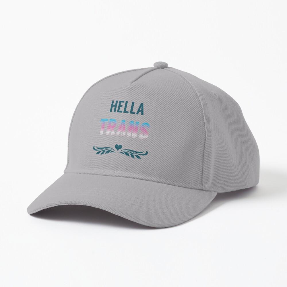 Hella Trans Pride Cap