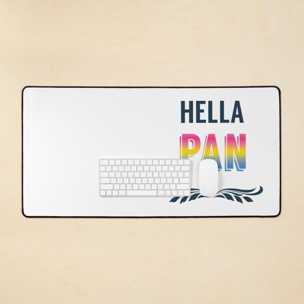 Hella Pan Pride Mouse Pad