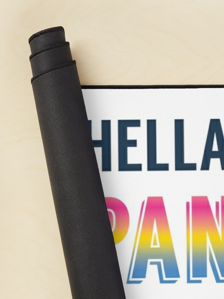 Alternate view of Hella Pan Pride Mouse Pad