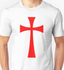 Long Cross - Knights Templar - Holy Grail - The Crusades Unisex T-Shirt