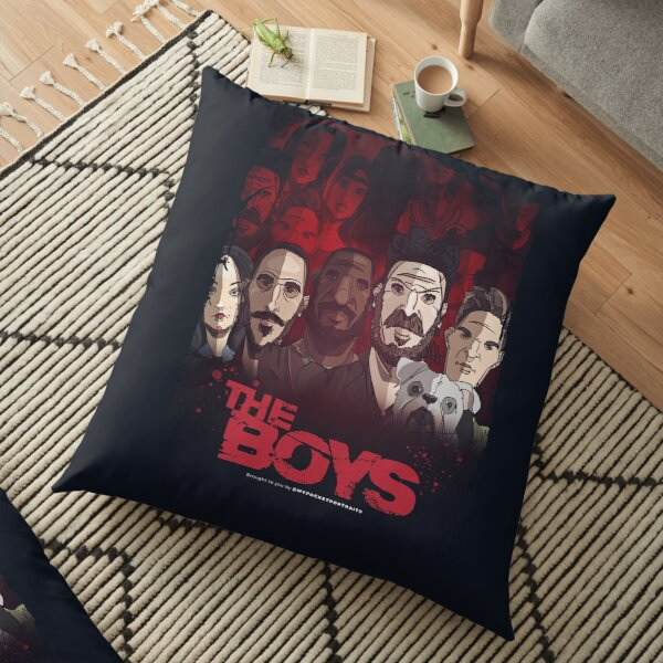 The Boys TV Show - Never meet your heros Floor Pillow