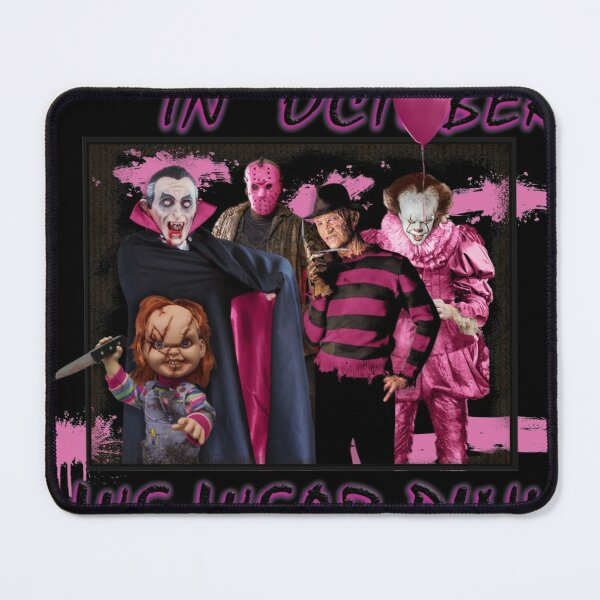 In October We Were Pink Mouse Pad