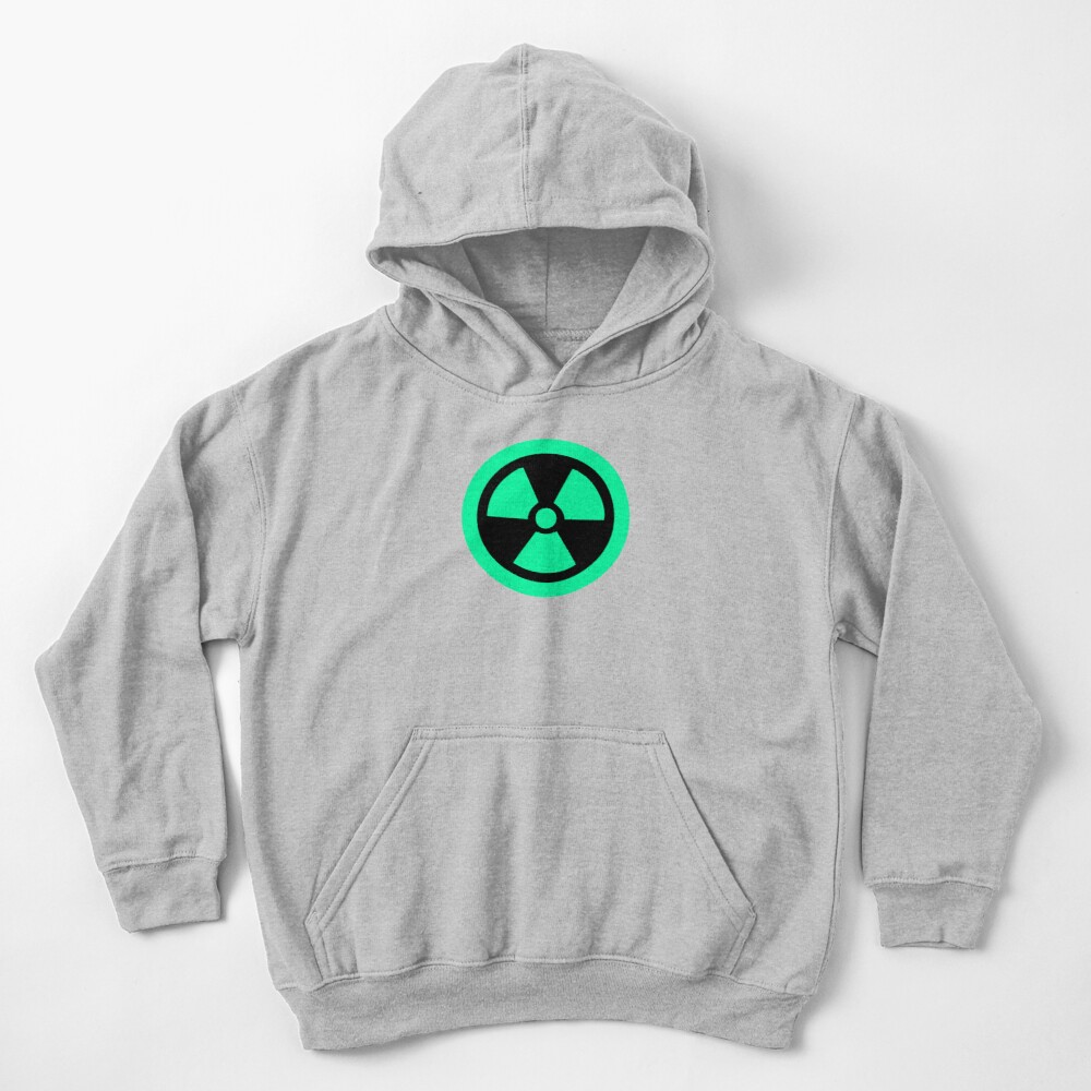 Fluo Radioactive Kids Pullover Hoodie