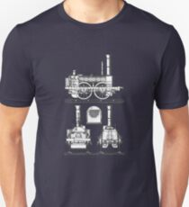 c1835 Samson Type Steam Locomotive Engine Unisex T-Shirt