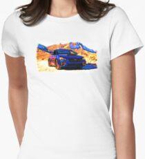 Subaru WRX STI Gravel Womens Fitted T-Shirt