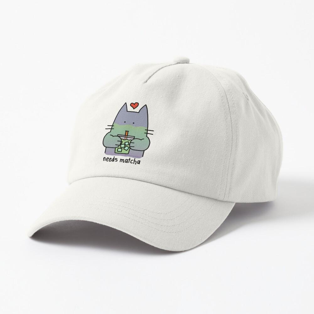 Iced Matcha Cat Cap