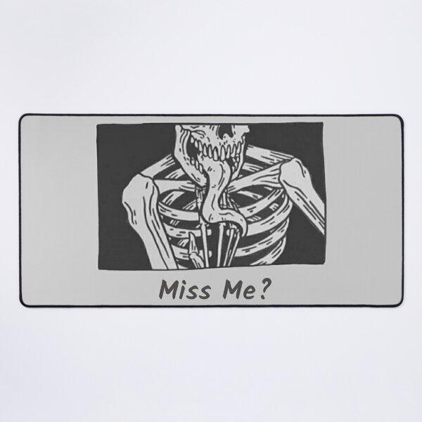 Gothic Skeleton Desk Mat