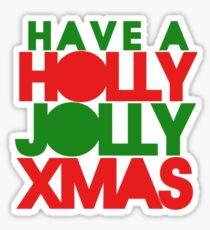 Holly Jolly xmas Sticker