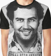 Pablo Escobar Grafik T-Shirt