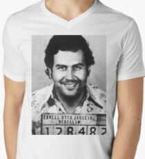 Pablo Escobar Men's V-Neck T-Shirt