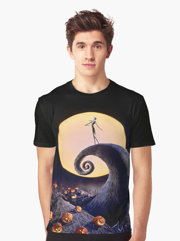 The Nightmare Before Christmas Graphic T-Shirt Front