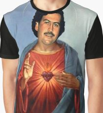 Saint Pablo Escobar Graphic T-Shirt
