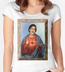 Camiseta entallada de cuello ancho San Pablo Escobar