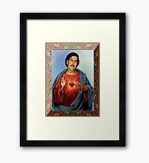 Heiliger Pablo Escobar Gerahmtes Wandbild