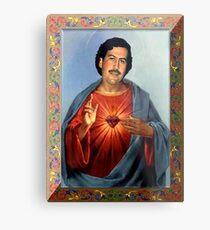 Saint Pablo Escobar Metal Print