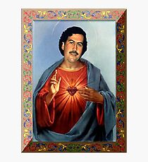 Saint Pablo Escobar Photographic Print