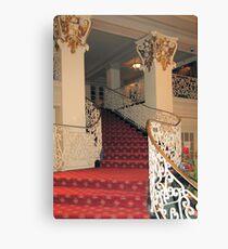 (。◕‿◕。) StairWay St.Anthony's Hotel Sanantonio Texas(。◕‿◕。)   Canvas Print
