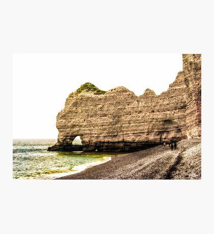 Etretat Beach Photographic Print