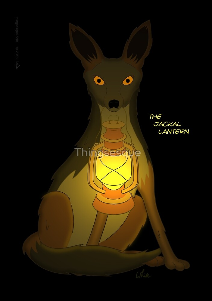 The Jackal Lantern by Thingsesque