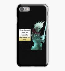 Time Doesn't Heal All Wounds iPhone Case/Skin