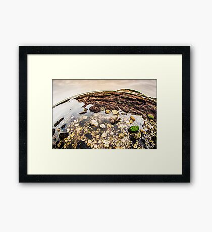 The World of Etretat Framed Print