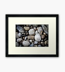 Etretat Rocks Framed Print