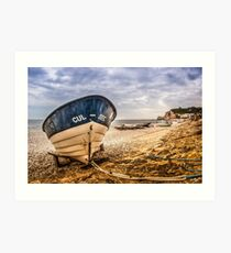 Cul-Sec Boat Art Print