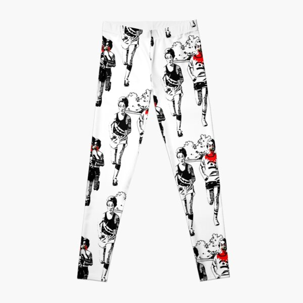 Humorous Running Motivation Leggings