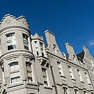 Silver City Architecture - Crenellated Castle Style Facade in Aberdeen  by Georgia Mizuleva
