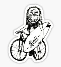 Rip Curl Balinese Tribe Leader Surfer Sticker