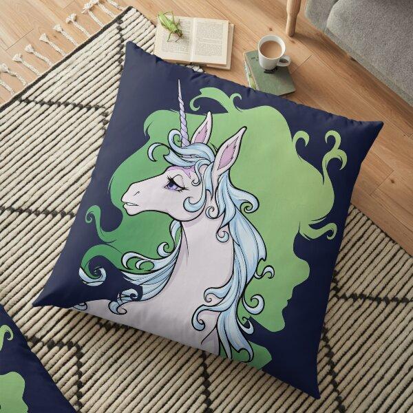 The Last Unicorn Molly Grue Green Floor Pillow