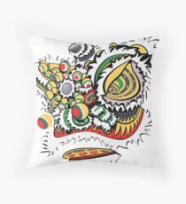 Exalted Lion Throw Pillow