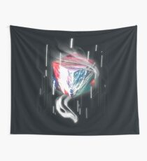 Texture Cube Wall Tapestry