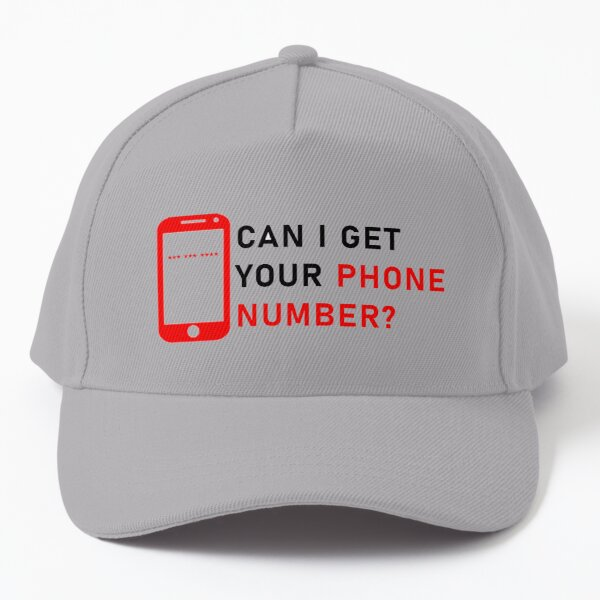 Get the Phone Number of any Girl or Boy Baseball Cap