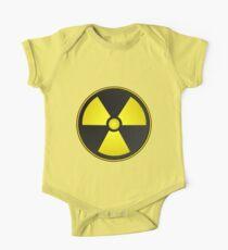 Radioactive Fallout Symbol Geek Kids Clothes