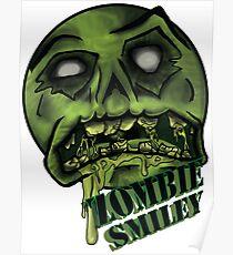 Zombie Smiley  Poster
