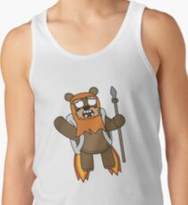zombie ewok with a jetpack Tank Top