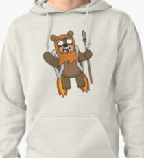 zombie ewok with a jetpack Pullover Hoodie