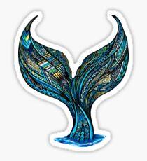 Samoan Mermaid Tail Sticker