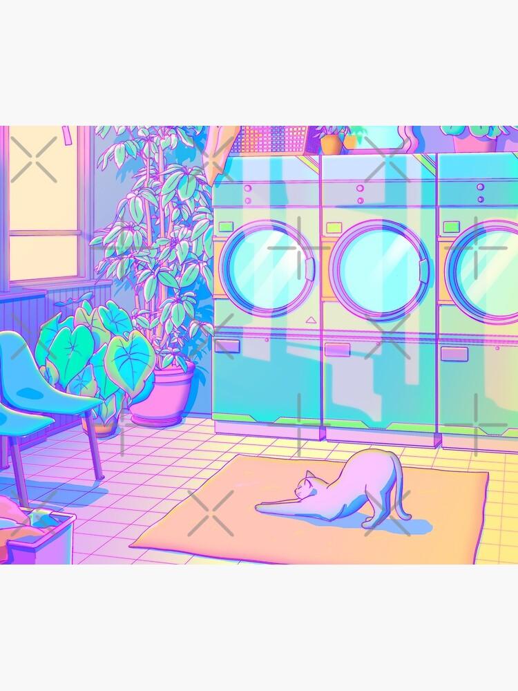 Laundry Blues by EloraPautrat